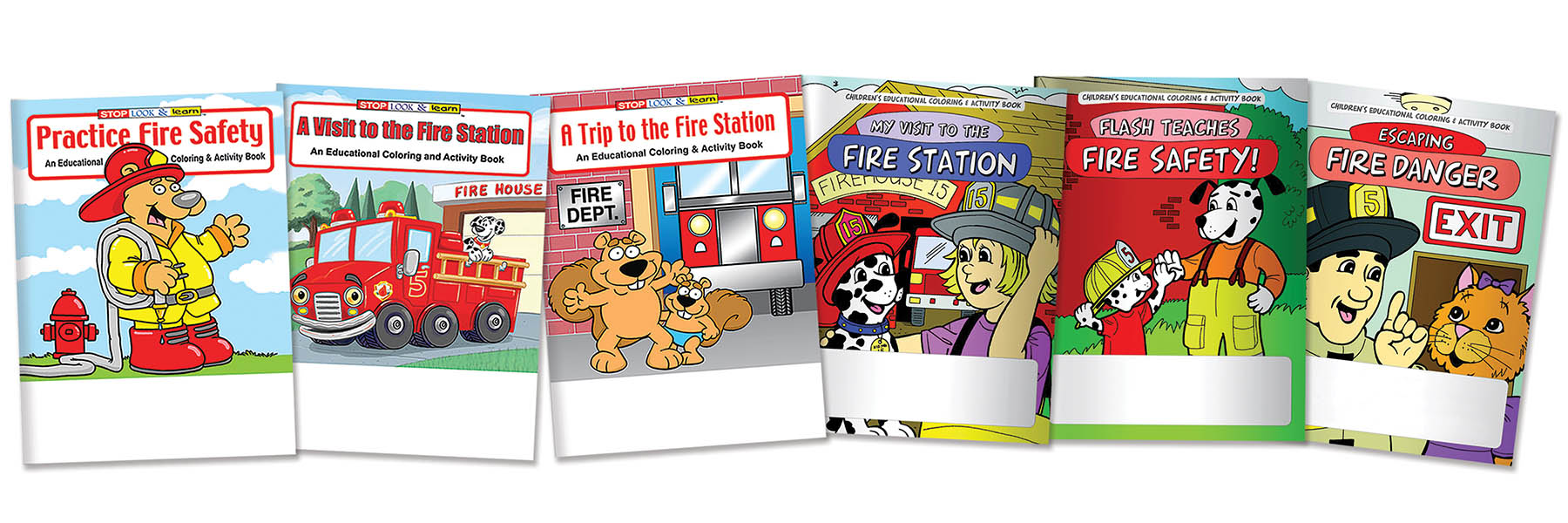 Childrens educational coloring activity book - Custom Coloring Books