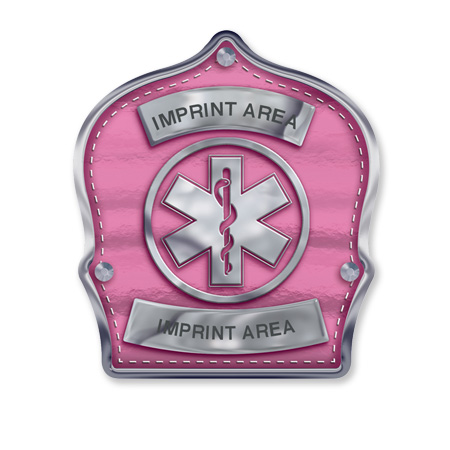 Pink/Silver Star of Life
