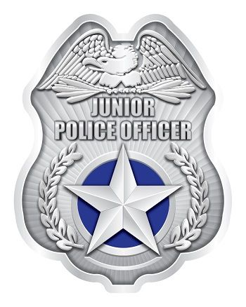 Stock Police Clip-On Badges