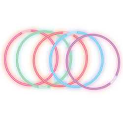 Assorted Color Lite Rope Necklace