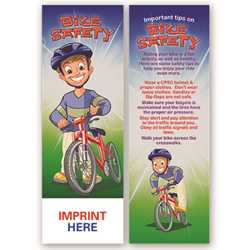 Bike Safety Bookmark bike safety product, bike, bookmark, safety