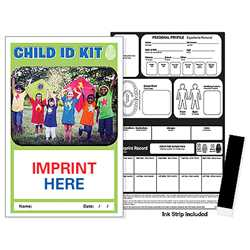 ID Safety Kit - Children Safety product, emergency, child safety, identification kit, id kit, lost child info, personal data record keeper