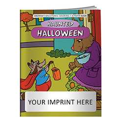 Coloring Book - Halloween Haunted Holiday firefighting, fire safety product, fire prevention, fire safety coloring book, fire prevention coloring book, fire safety activity book, fire prevention activity book