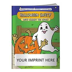 Coloring Book - Halloween Safety with Gilbert the Ghost firefighting, fire safety product, fire prevention, fire safety coloring book, fire prevention coloring book, fire safety activity book, fire prevention activity book
