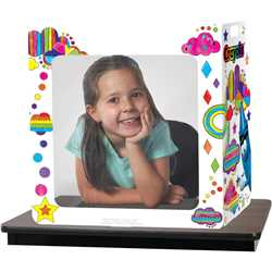 Crayola™ Carry-With-Me Desk Shield, 2-Sided plastic shield, plastic shield for desk, sneeze guard, free standing sneeze guard, desk shield, clear desk shield, plastic desk shield, desk guard, plastic shielding, plastic shield for counter, privacy shield, privacy shield for classroom, desk privacy shield