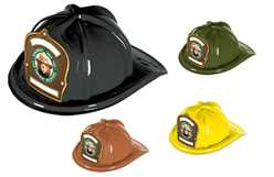 Custom Smokey Bear Fire Safety Club Fire Hat firefighting, fire safety product, fire prevention, smokey, smokey bear, plastic fire hat, plastic, hats, bear, fire hat, stock