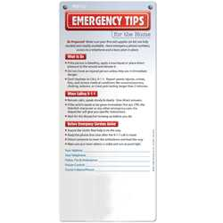 Emergency Tips for the Home Post Ups