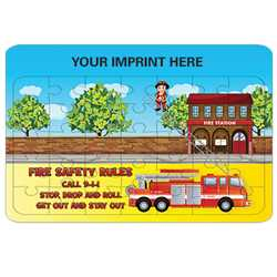 Fire Department Jigsaw Puzzle firefighting, fire safety product, fire prevention, firefighter, puzzle, jigsaw puzzle, fire truck