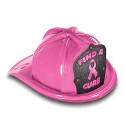 Fire Hat - Find A Cure Ribbon