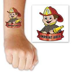 Firefighter Custom Tattoo