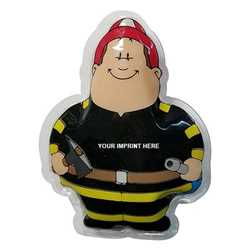 Fireman Bert Gel Beads Hot/Cold Pack Hot Pack, Cold Pack, Therapy, Health Care, Ice Pack, Fireman, Fire Prevention, Fire Prevention Week