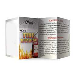 Home Fire Hazards Pocket Pamphlets