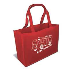 "16"" Non-Woven Tote Bag; ASSORT UP TO 4 COLORS"