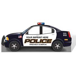 Police Car Photo Prop 89.25 x 37.25
