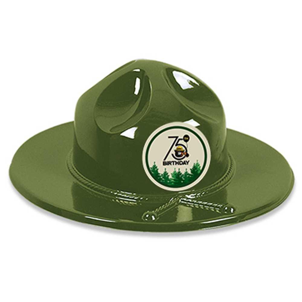 9e1ef691f Ranger Hat with Smokey Bear 75th Sticker