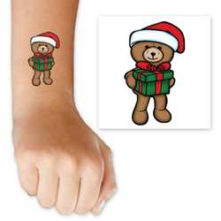 Santa Bear Tattoo