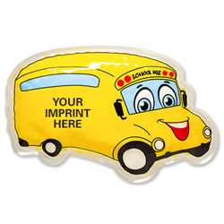School Bus Hot / Cold Pack School Bus, Police safety, fire safety, traffic awareness, erasers, pencil erasers