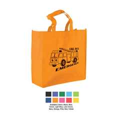 "13"" Shopping Tote Bag; ASSORT UP TO 4 COLORS"