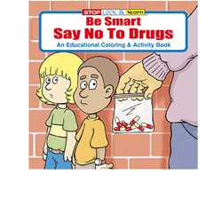 Stock Coloring Book - Be Smart, Say NO to Drugs