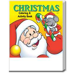 Stock Coloring Book - Christmas
