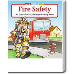 Stock Coloring Book - Fire Safety firefighting, fire safety product, fire prevention product, firefighting coloring book, firefighting activity book, fire safety coloring book, fire safety activity book, fire prevention coloring book, fire prevention activity book
