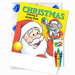 Stock Coloring Book Fun Pack - Christmas