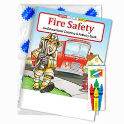 Stock Coloring Book Fun Pack - Fire Safety firefighting, fire safety product, fire prevention product, firefighting coloring book, firefighting activity book, fire safety coloring book, fire safety activity book, fire prevention coloring book, fire prevention activity book