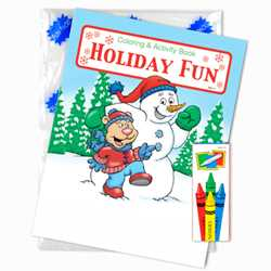 Stock Coloring Book Fun Pack - Holiday Fun