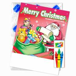 Stock Coloring Book Fun Pack - Merry Christmas
