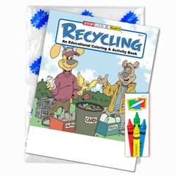Stock Coloring Book Fun Pack - Recycling