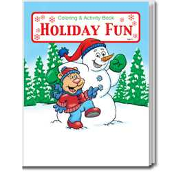 Stock Coloring Book - Holiday Fun