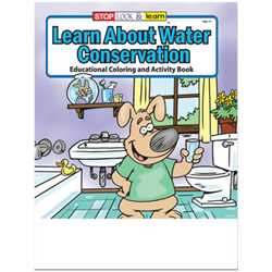 Stock Coloring Book - Learn About Water Conversation