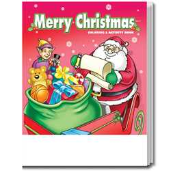 Stock Coloring Book - Merry Christmas