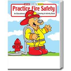 stock coloring book practice fire safety english version firefighting fire safety product - Firefighter Coloring Book