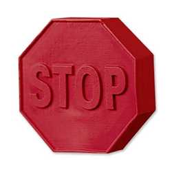 Stop Sign Pencil Top Eraser Erasers, stop sign, bus safety, fire safety, police safety, pencil eraser, school supplies