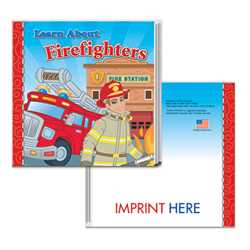 Storybook - Learn About Firefighters firefighting, fire safety product, fire prevention, firefighter