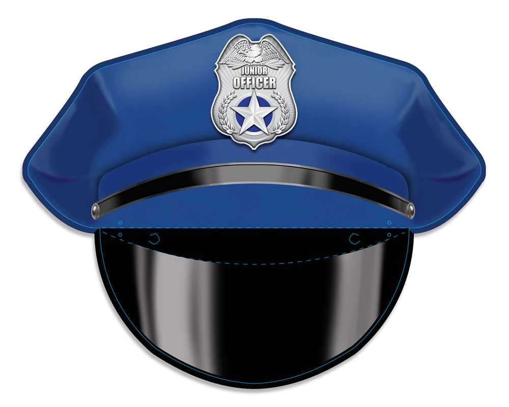 Paper Police Hats