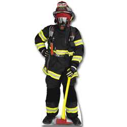 Firefighter Stand-Out firefighting, fire safety product, fire prevention, cut outs, photo props, firefighter, photo prop, cut out